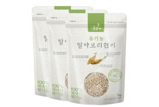 유기농발아 보리현미(1kgX3팩 선물세트)